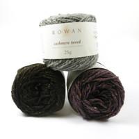 Rowan Cashmere Tweed DK Yarn | Various Shades