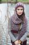 Rowan Cashmere Tweed Dk - Wilkie Hat and Scarf pattern