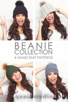 Rowan Beanie Collection Book by Quail Studio
