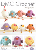 Family of Chicks Crochet Patterns | DMC Crochet Natura Cotton