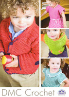 Childrens Wear Crochet Knitting Pattern | DMC Petra Crochet Cotton