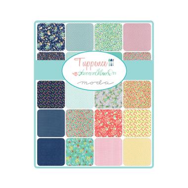Jelly Roll Tuppence fabric assortment | Shannon Gillman Orr | Moda Fabrics - Main image
