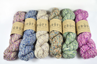 The Croft - 100% Shetland Tweed Aran | WYS - Main image