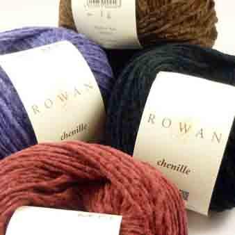 Rowan Chenille 4 Ply Knitting Yarn - Main image