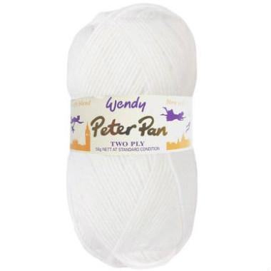 Peter Pan 2 Ply | 300 Pure White - Main Image