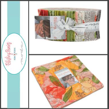 lushing Peonies | Robin Pickens | Moda Fabrics - Main image