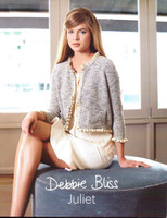 Debbie Juliet Knitting Pattern Book with Debbie Bliss Juliet Yarn