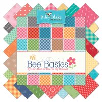 "5"" Square Pre-Cuts (42pk) - Bee Basics"