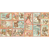 Graphic 45 | Ephemera Cards | Imagine Collection
