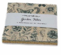 Charm Fabric Pack, Garden Notes | Kathy Schmitz | Moda Fabrics - Main Image 2