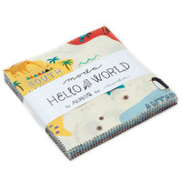 Hello World | Abi Hall | Moda Fabrics | Charm Pack - Main Image