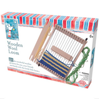 make & do Wooden Wool Loom   House of Marbles