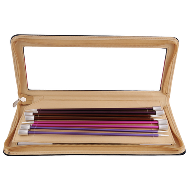 Knit Pro Zing Single Pointed Needles Set of Single Pointed Needles | 8 Sets (Main Image)