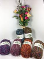 Wendy Botanics Chunky Knitting Yarn, 100g Balls | Various Colours