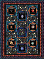 Cosmic Space Quilt 2 | Blank Quilting | Free Downloadable Pattern - Main Image