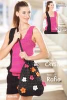 Free Crystal Bag Crochet Pattern | Adriafil Rafia