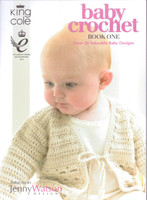 Baby Crochet Knitting Book, One | King Cole