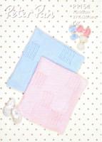 Love Heart Blankets 4 Ply / DK Pattern | Peter Pan 4 Ply / DK 1154