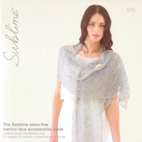 Lace Accessories Pattern Book | Sublime Extra Fine Merino 675