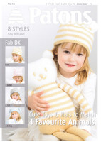 Book of Cute Toys and Hats to Match | Patons 3867