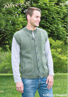Gilet and Cardigan Aran Pattern | Twilleys Alfresco Aran 9207