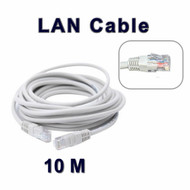 10 M Long Network Ethernet Cable Internet Wire LAN CAT5 Router Quality