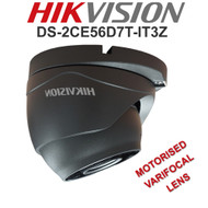 HIKVISION DS-2CE56D7T-IT3Z Dome Camera Varifocal Motorised EXIR  WDR In/Out door (Grey)