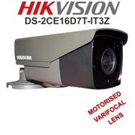 HIKVISION DS-2CE16D7T-IT3Z Bullet Camera Varifocal Motorised EXIR  WDR Outdoor  (Grey)