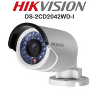 HIKVISION DS-2CD2025FWD-I HD Mini Bullet Camera 4MP 2.8mm Fixed Lens IR Range 30M IP Outdoor (White)