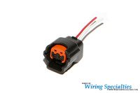 vg30 6 pin power transistor connector new style wiring specialties vg30 injector connector new style