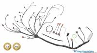Datsun 280z S14 SR20DET swap wiring harness
