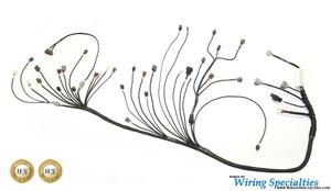 350z rb25det swap wiring harness wiring specialties nissan 350z rb25det wiring harness