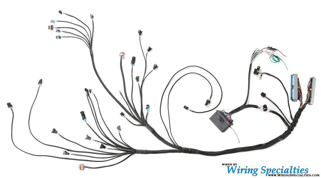 e46 rb20det swap wiring harness wiring specialties image 1