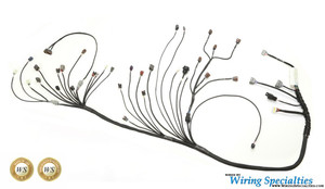 240sx rb25det swap wiring harness wiring specialties nissan 240sx s13 rb25det wiring harness