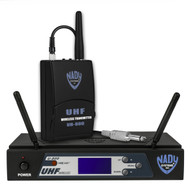 Nady U-800 PLL Guitar Synthesized 800-Channel UHF Wireless System (manufacturer refurbished)