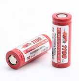 Efest 18500 IMR Battery (Red / 1100 mAh / Flat Top)