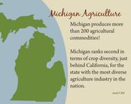 Michigan Commodity Fact Card