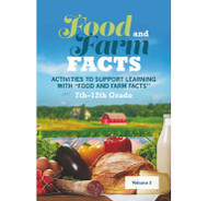 Food and Farm Fact Lesson Cards [7-12 Grades]