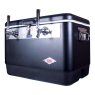 "Stainless Steel Beer Jockey Box - 54 Qt., 5/16"" O.D. 100' SS Coil - JBA54-SB-150-2"
