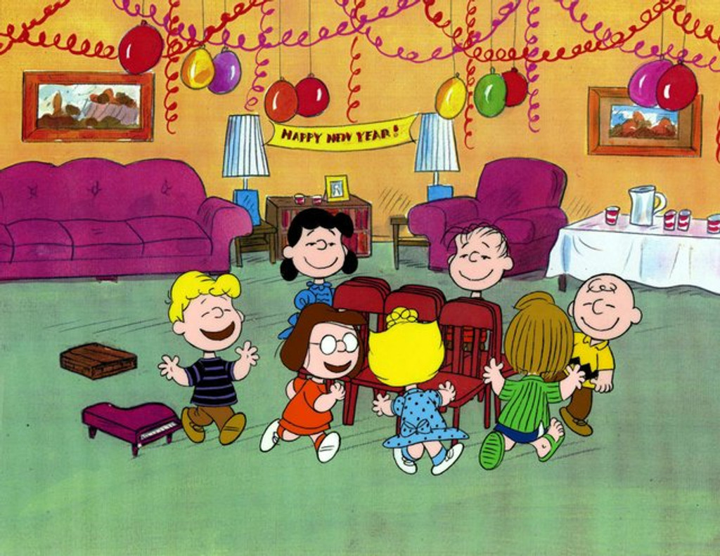 Happy New Year Charlie Brown on DVD