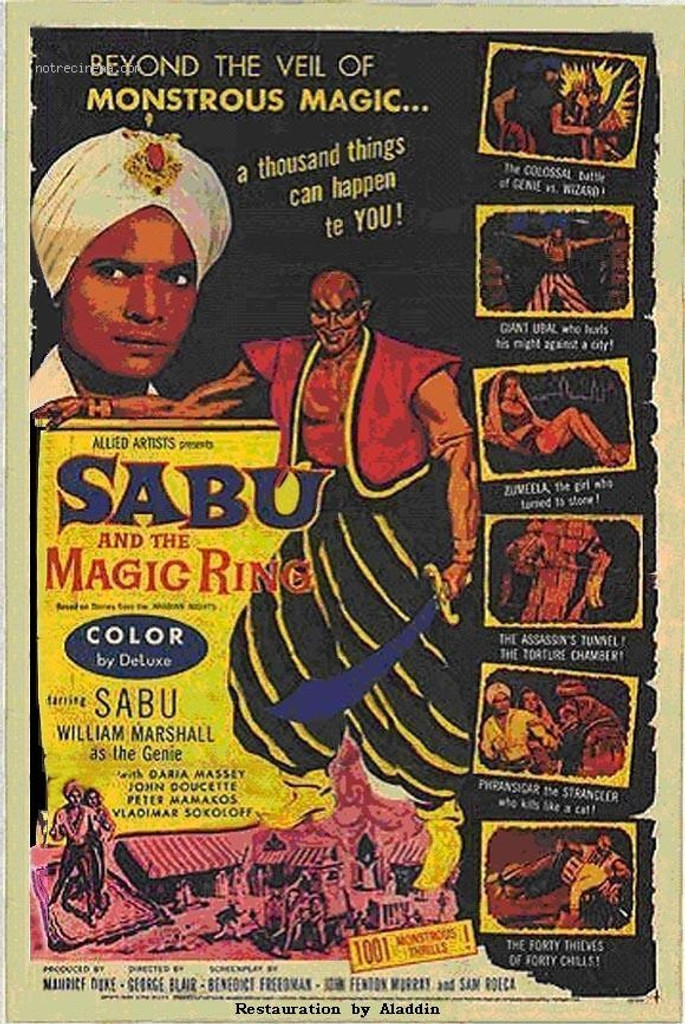 IF you've never heard of this Sabu movie, you're in for a treat! It's really rare, and it also stars William Marshall (Blacula)
