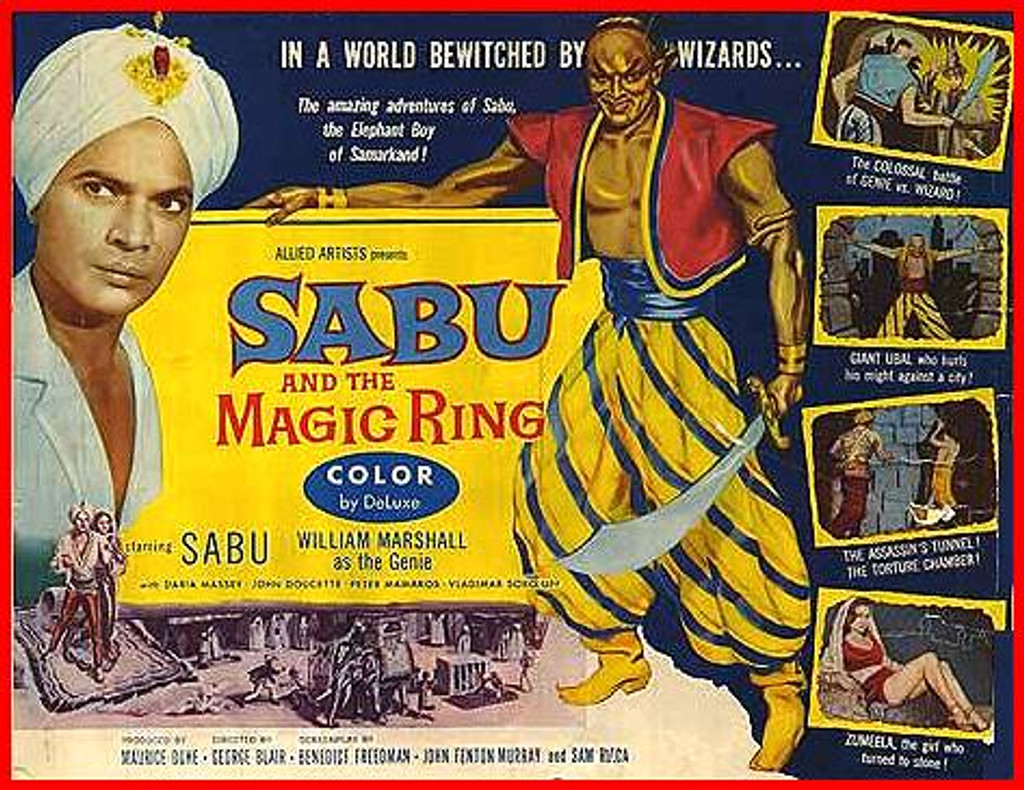 """Sabu from """"The Jungle book"""" in another adventure."""