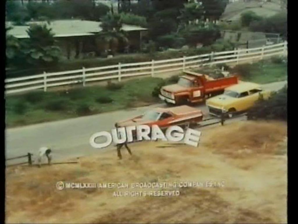 Outrage  DVD 1973 Robert Culp