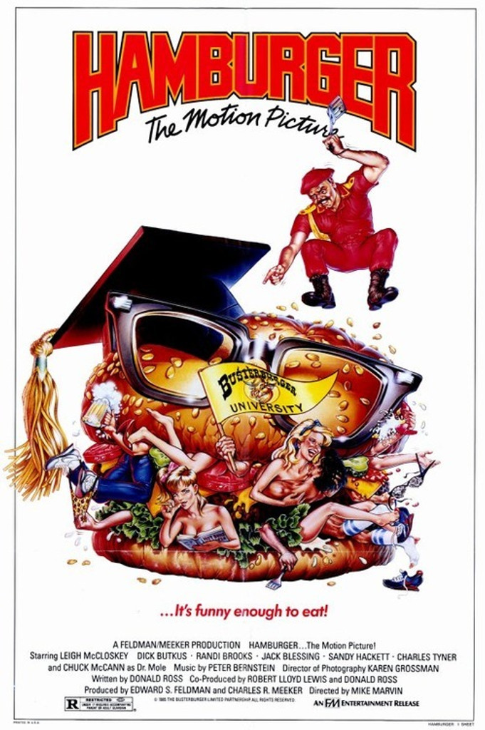 Hamburger the motion picture on DVD