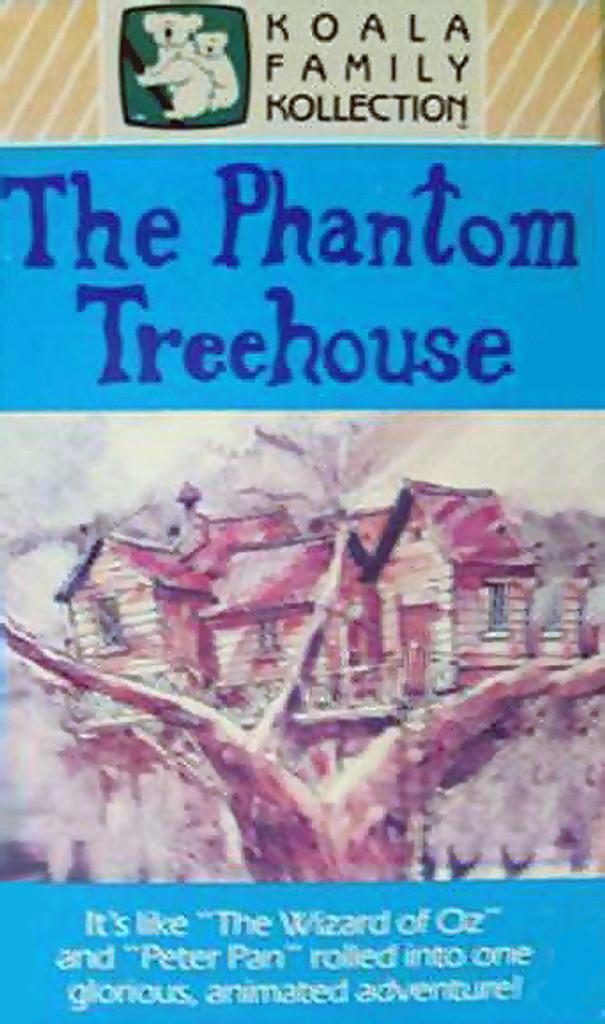 the phantom treehouse dvd