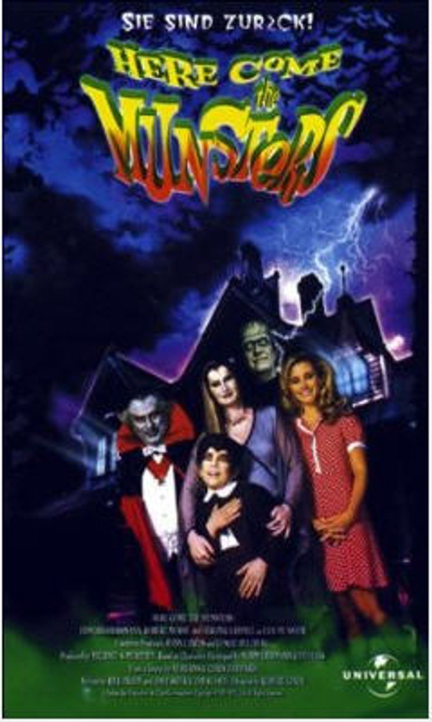 Here come the Munsters DVD 1995
