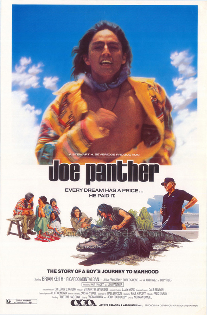Joe Panther DVD 1976 Ray Tracey