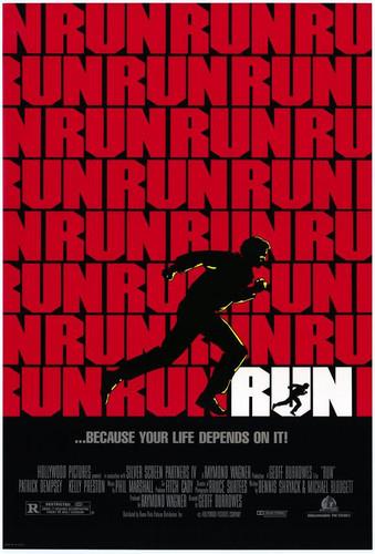 Run starring Patrick Dempsey DVD 1989