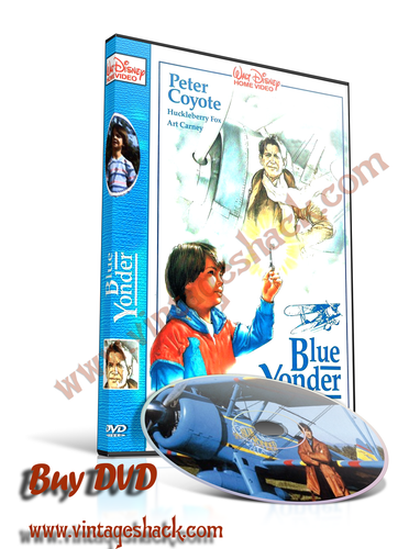 "Time Flyer aka ""The Blue Yonder"" DVD, Huckleberry Fox, Art Carney,  and Peter Coyote"