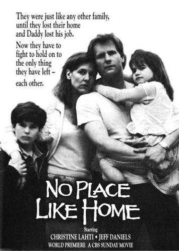 """No Place like Home aka """"Homeless"""" DVD Jeff Daniels, Christine Lahti"""